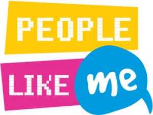 People Like Me logo visual identity