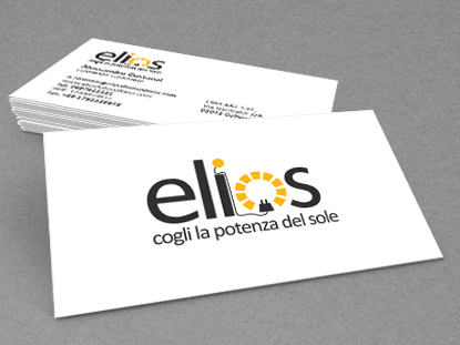 Elios visual identity